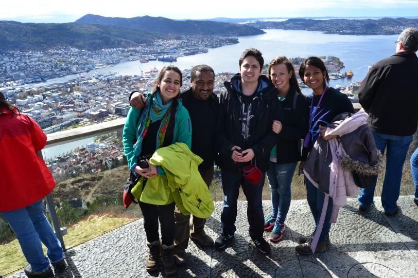 Amigos en Bergen