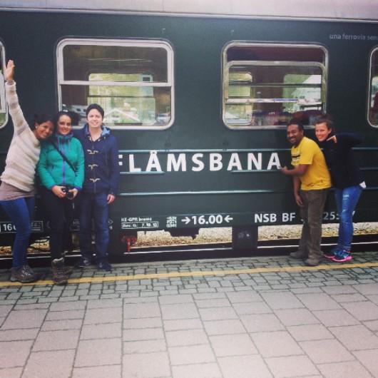 Al frente del tren