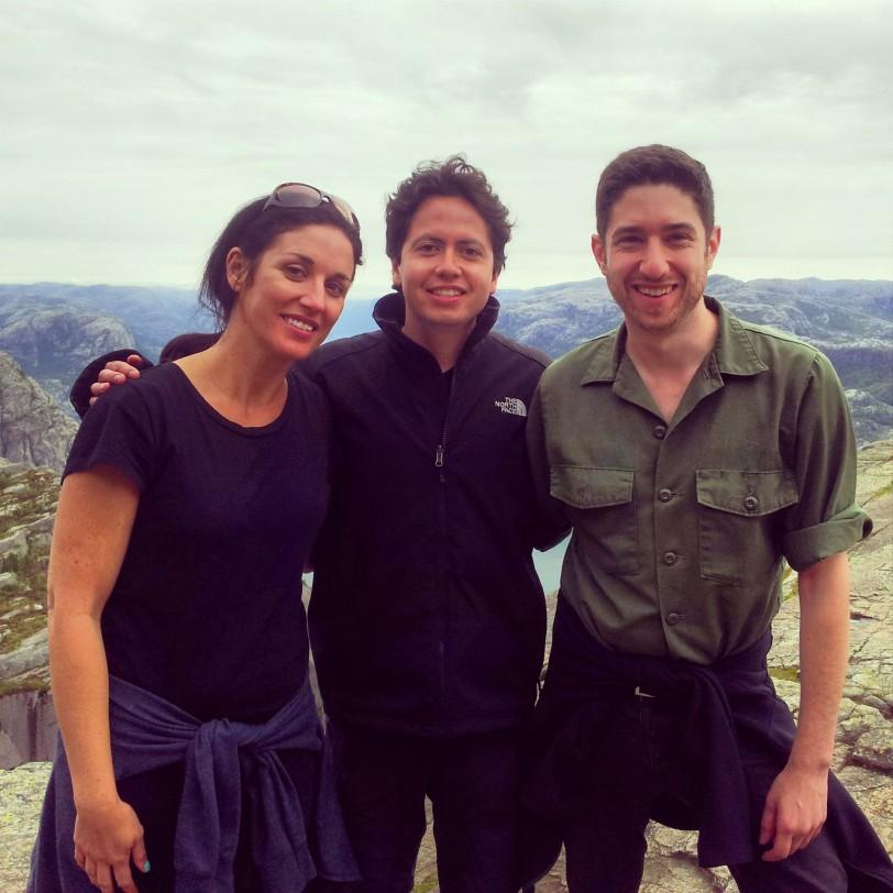 Con Laura y Joe