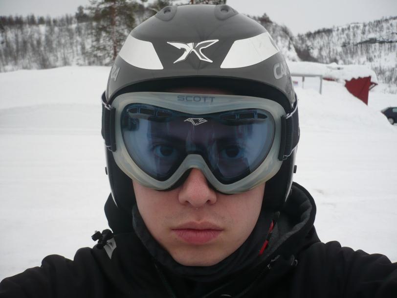 Mi casco y gafas